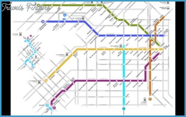 Argentina Subway Map Travel Map Vacations TravelsFindersCom - Argentina subway map