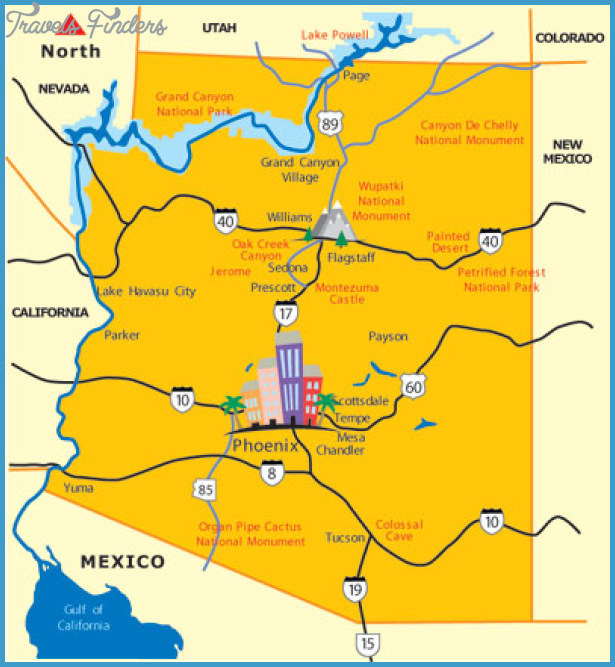 Scottsdale Map Tourist Attractions  Travel  Map