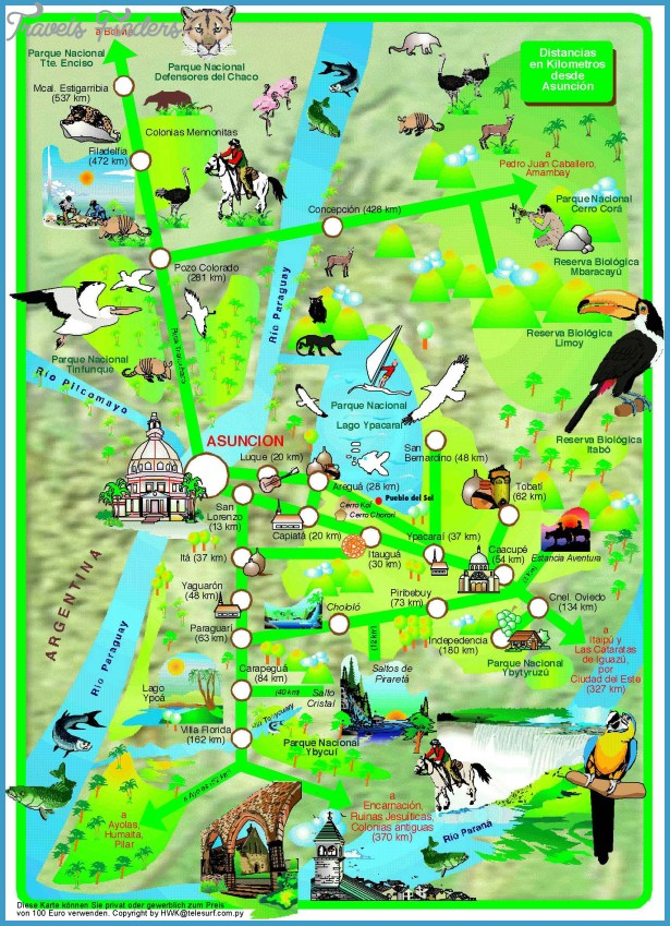 Peru Map Tourist Attractions – Peru Tourist Attractions Map