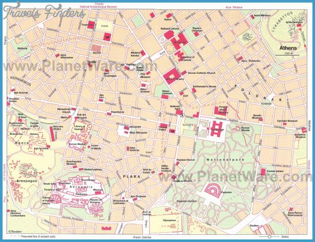 City map of Athens , Athens tourism, Bus map Athens , Map of Athens ...