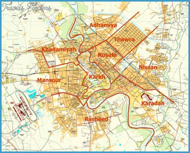 baghdad map areas2jpg