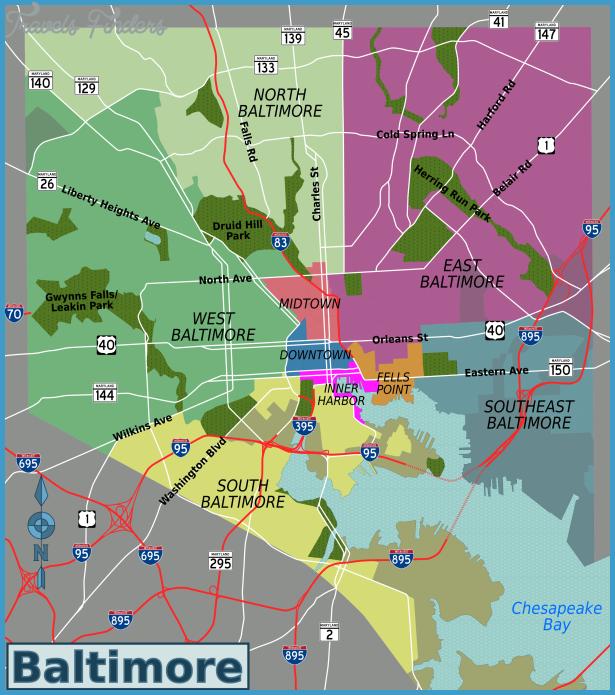 Description Baltimore districts map.png