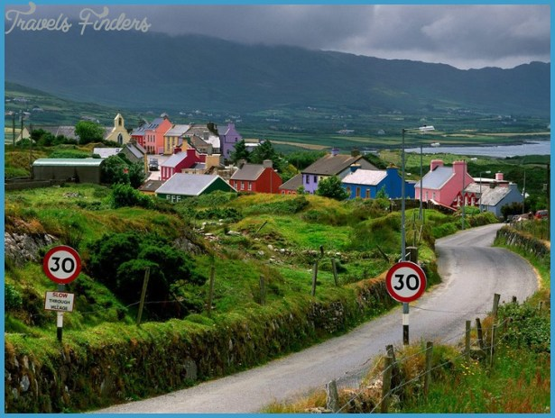 Beautiful Ireland Landscape | Travel Blog Direction & Places to Visit