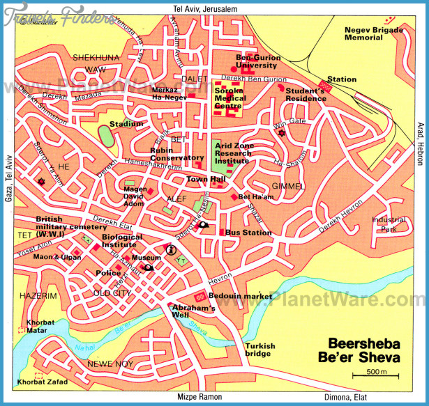 Israel Map Tourist Attractions – Tourist Attractions Map In Israel