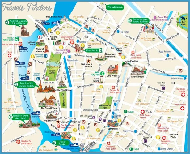 ,Bangkok City BTS Skytrain Suvarnabhumi International Airport Map,map ...