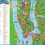 interactive and colorful map - New York top tourist attractions map