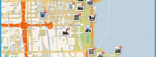 Map of Chicago Attractions | Tripomatic