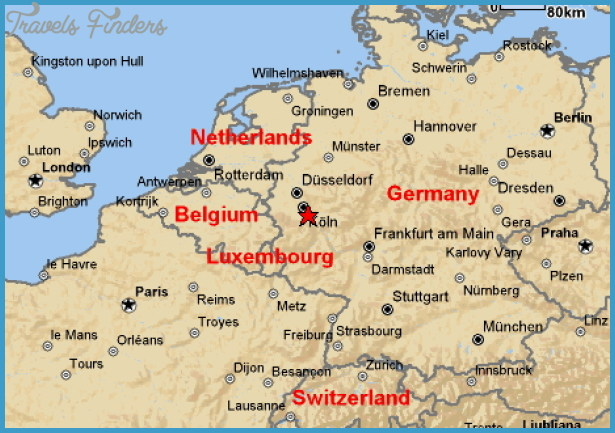 Colognebonn map travelsfinders bonn germany map pales fenen gumiabroncs Images