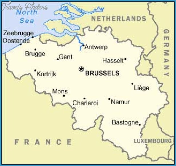 Brussels Map Travel Map Vacations TravelsFindersCom - Brussels on world map