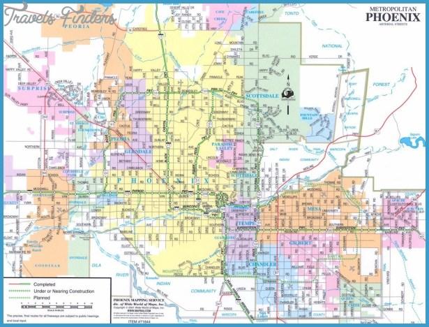 Chandler Metro Map TravelsFindersCom