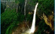 Cherrapunji, Meghalaya , best tourist destinations in northeast India