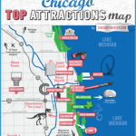 Chicago Maps- See a Map of Chicago Illinois Theaters, Shopping, Hotels ...
