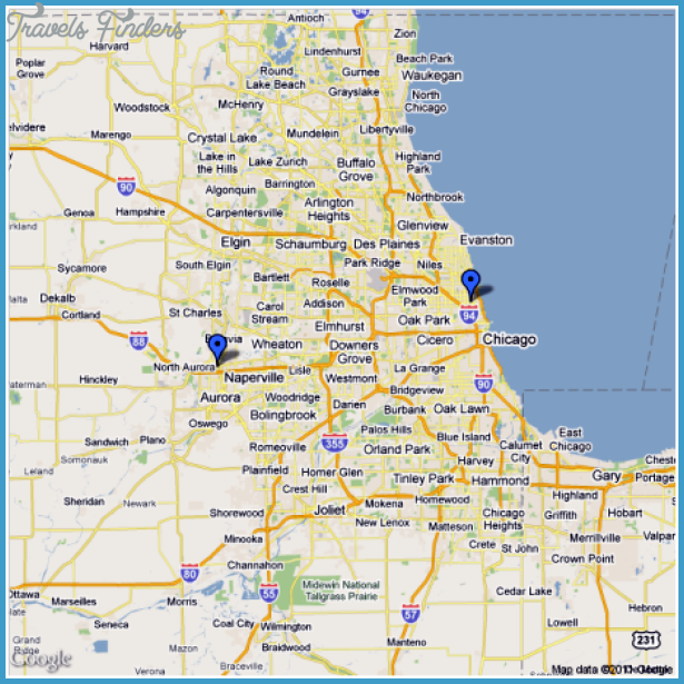 Chicago Metro Map  Travel  Map  Vacations