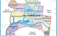 City of Melbourne Australia Boundary Map - Melbourne Australia ...