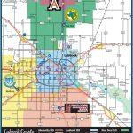 Lubbock Map