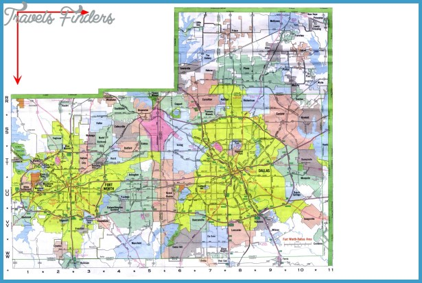 DallasFort Worth Map Tourist Attractions – Fort Worth Tourist Attractions Map