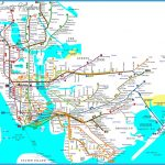 Detailed map of NYC metro (mtr). New York detailed subway map