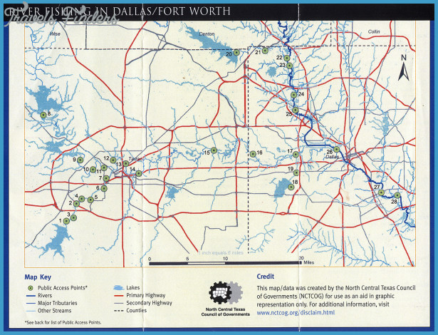 River Fishing in Dallas Fort Worth – Maps are Power : Texas Fly