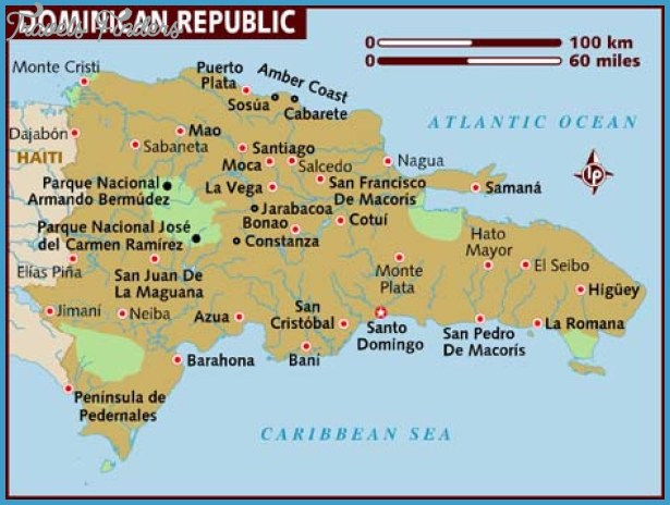 Dominican Republic Map Tourist Attractions – Dominican Republic Tourist Attractions Map