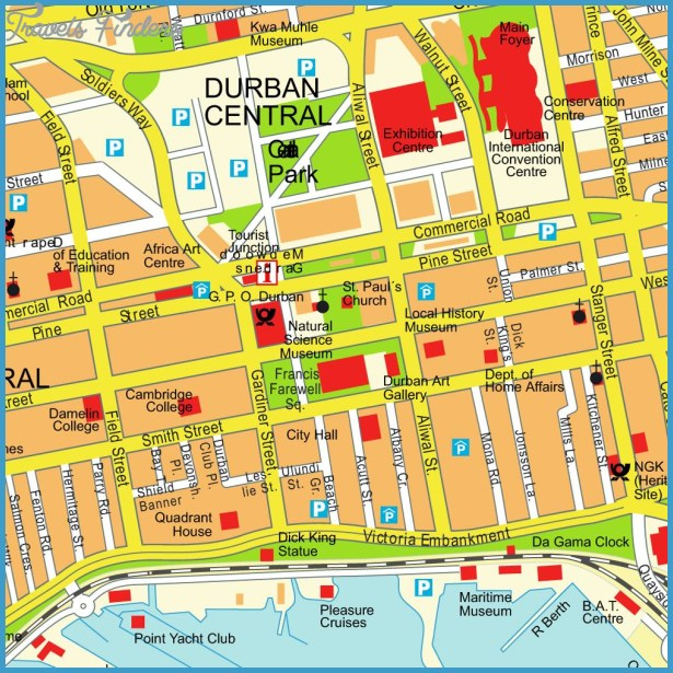 Durban Map Tourist Attractions - TravelsFinders.Com ® on map of france attractions, map of jamaica attractions, map of mexico attractions, map of florida attractions, map of thailand attractions, map of italy attractions, map of southern ireland attractions, map of singapore attractions, map of egypt attractions, map of uk attractions,