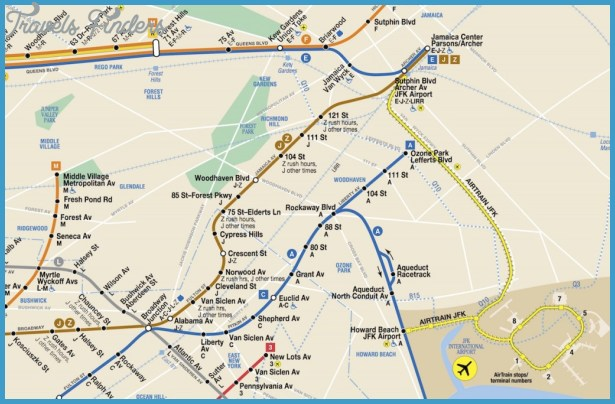 ... Subway and Long Island Rail Road, is included on the Subway Map in a