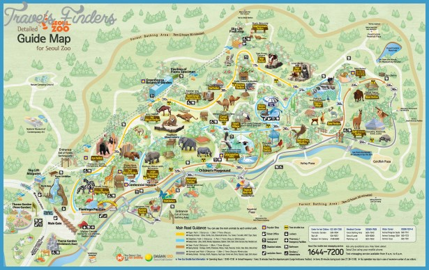 Seoul Map Tourist Attractions – Seoul Tourist Attractions Map