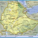 map of ethiopia ethiopia africa