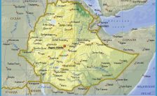 map of ethiopia ethiopia africa