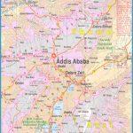 Addis Ababa Map | Metro Map | Bus Routes | Metrobus Way Map