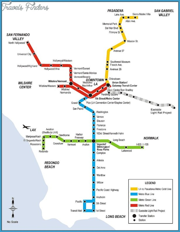 Since 1990, LA's rail transitsystems have expanded to more than 60 ...