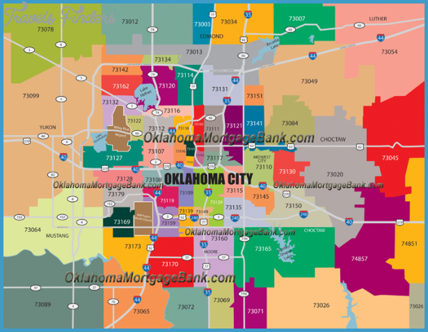 Midwest City Ok Zip Code Map Www Naturalrugs Store