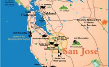 san jose zip code map Archives - TravelsFinders.Com ®
