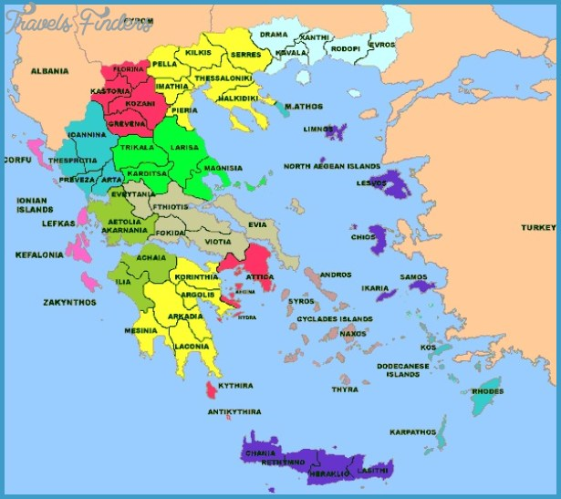 Greece - Map of Greece images