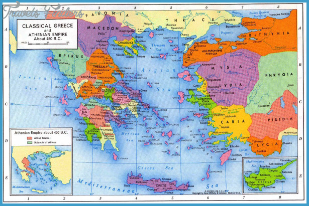 Greece Map Tourist Attractions – Tourist Attractions Map In Greece