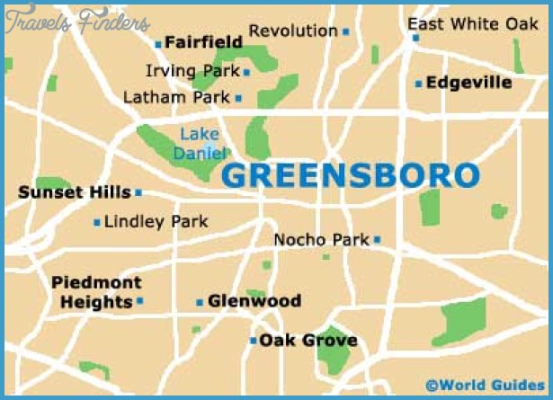 Greensboro Travel Guide and Tourist Information: Greensboro, North