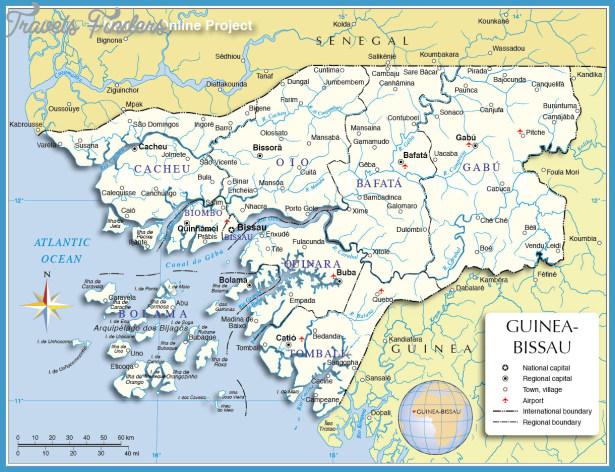 Guinea Map TravelsFindersCom