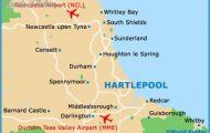 south map of the united kingdom map of county durham map of hartlepool