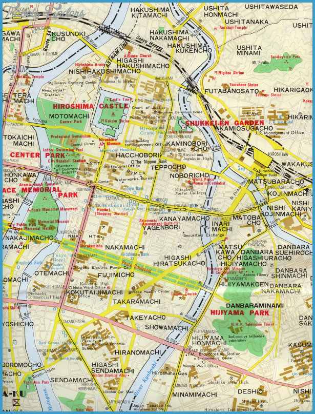 Japan Metro Map Travel Map Vacations TravelsFindersCom - Japan map metro