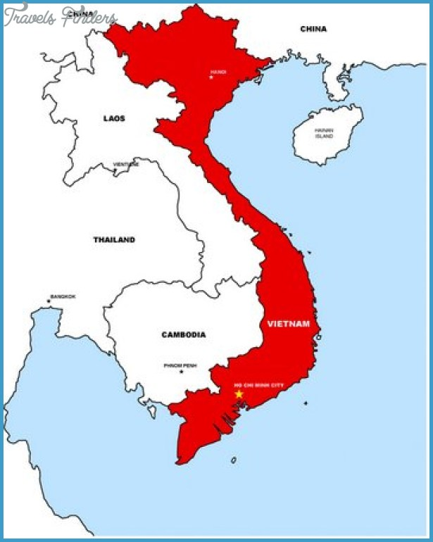 Ho Chi Minh City Map - TravelsFinders.Com ®