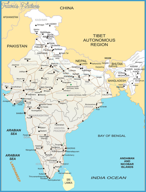 India Map See map details From shoortravelindia.com