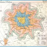 Time Zone Map, 1914. Produced by Manchester City Council tramways