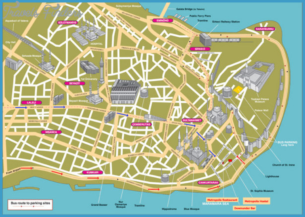Istanbul Map Tourist Attractions _0.jpg