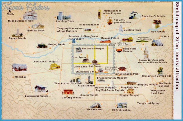 Kansas City Map Tourist Attractions TravelsFindersCom