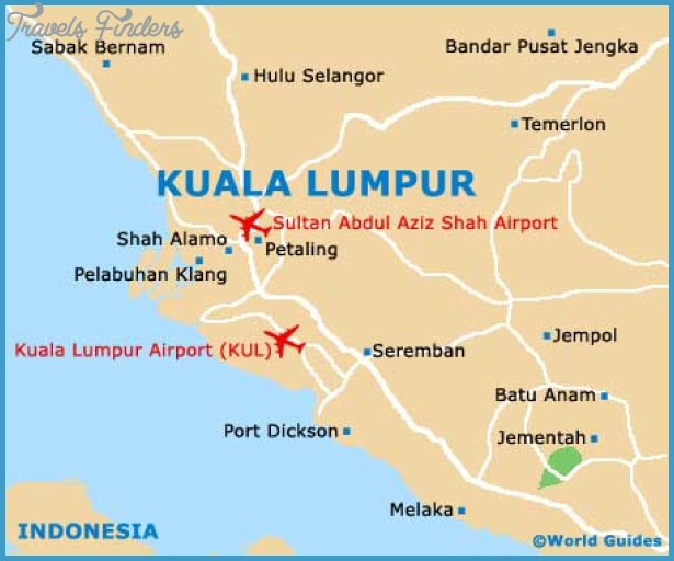 Kuala Lumpur Map - TravelsFinders.Com ® on new york map of areas, las vegas map of areas, vancouver map of areas, singapore map of areas, san francisco map of areas, phuket map of areas, boston map of areas,