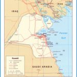 kuwait map overview map of kuwait 145 miles away near kuwait keywords ...
