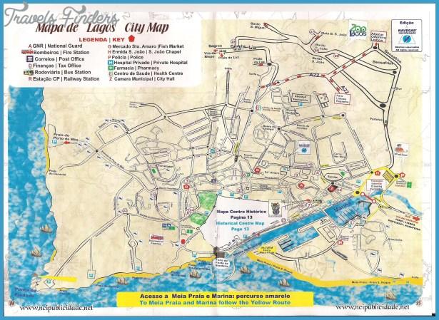 Lagos Map TravelsFindersCom