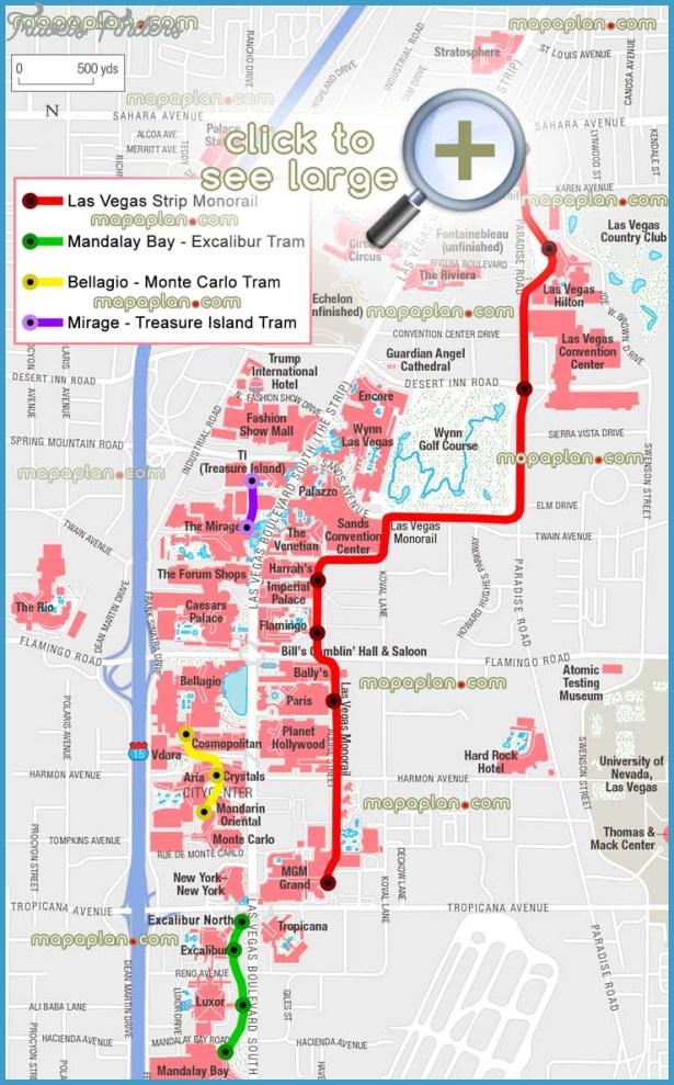 Las Vegas Subway Map  Travel  Map  Vacations