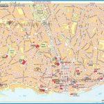 Hartă turistică Lisabona