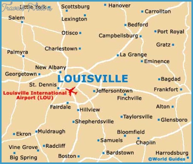 Loiseville Map Tourist Attractions – Tourist Attractions Map In Louisville Ky