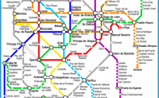 Madrid Metro Map Archives Travelsfinders Com
